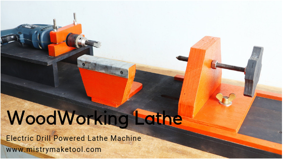 Read more about the article How To Make A Woodworking Lathe Drill Powered