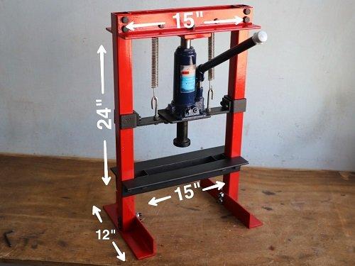 hydraulic press mini 5ton
