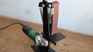 Read more about the article Make A Angle Grinder Belt Sander Attachment