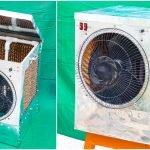 How To Make Air Cooler || DIY Air Cooler